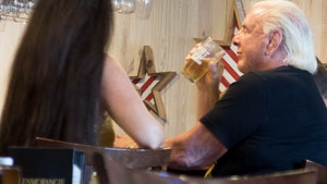 Ric Flair Drinkin Beer Again Just 1 Month After Medical Scare