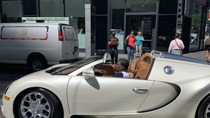 Tracy Morgan Back in Repaired Bugatti After Crash