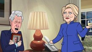 'Cartoon President' Roasts Bill Clinton Over Jeffrey Epstein Death