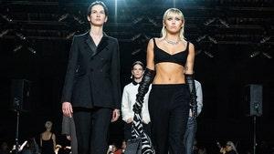 Miley Cyrus Makes Surprise Walk at New York Fashion Week