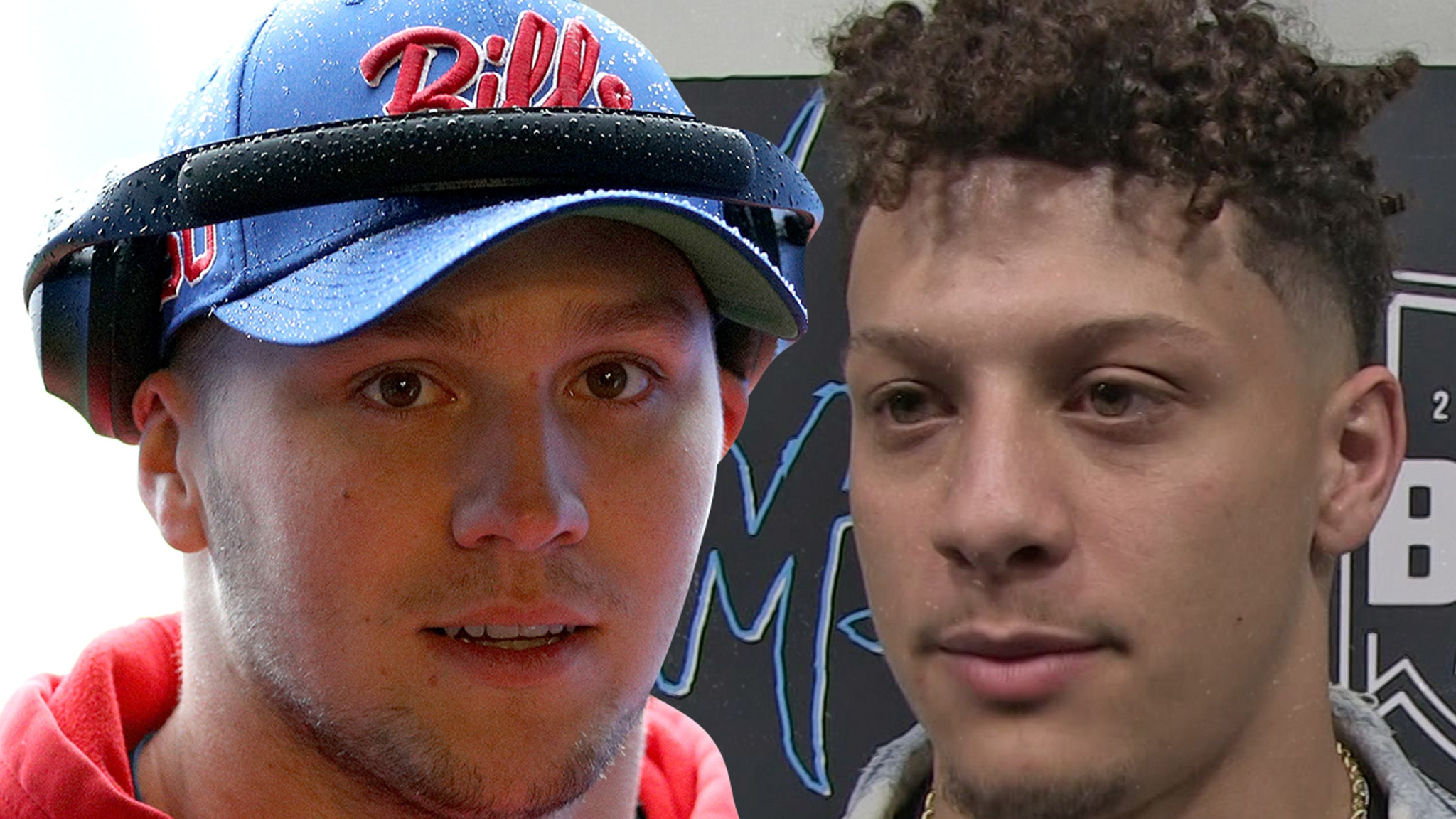 Josh Allen Accepts Patrick Mahomes Throw Off Challenge Let S Settle This