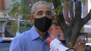 Barack Obama Stumps for Biden in Philly, Takes Bullhorn to the Streets
