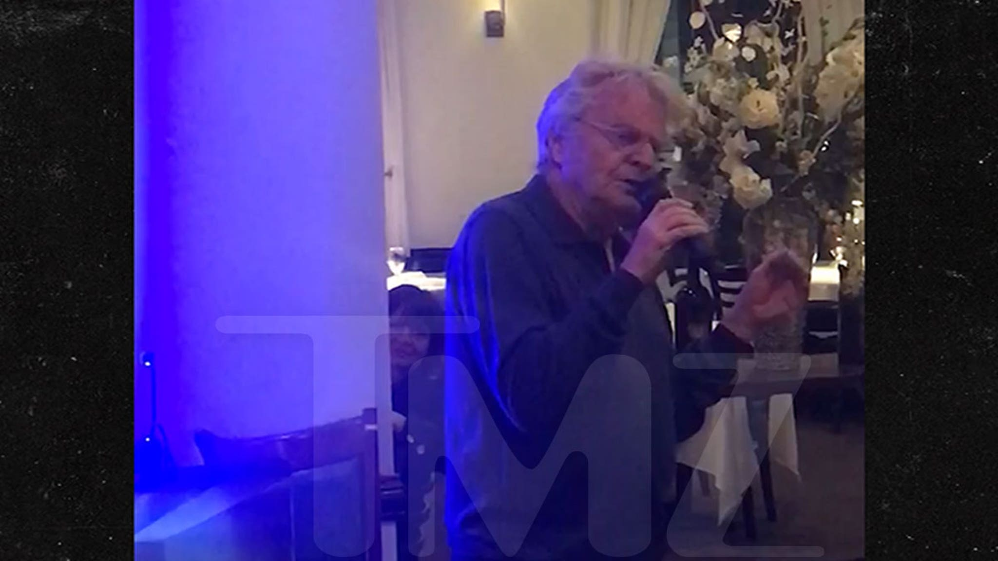 Jerry Springer Better Late Than Never ... Sings Elvis' 'Love Me Tender' Again