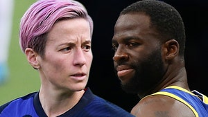 Megan Rapinoe Rips Draymond Green For Women's Pay Comments, 'Showed Your Whole Ass'