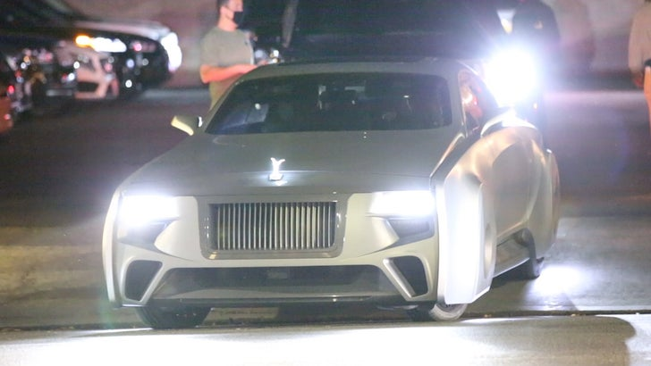 Justin Bieber Takes Hailey Out in His Futuristic Rolls-Royce.jpg
