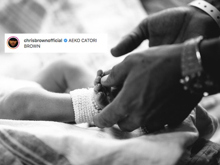 Chris Brown Shares First Photo Of His Newborn Son & Reveals His Name