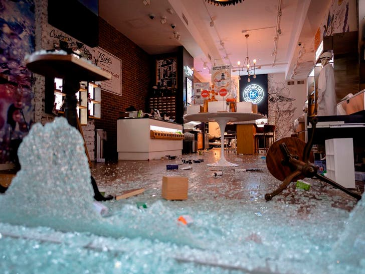 American Cities Damaged After Riots