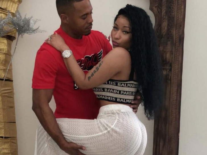 Nicki Minaj and Kenneth Petty -- Rekindled Flame