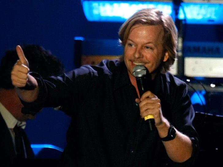 David Spade On Stage