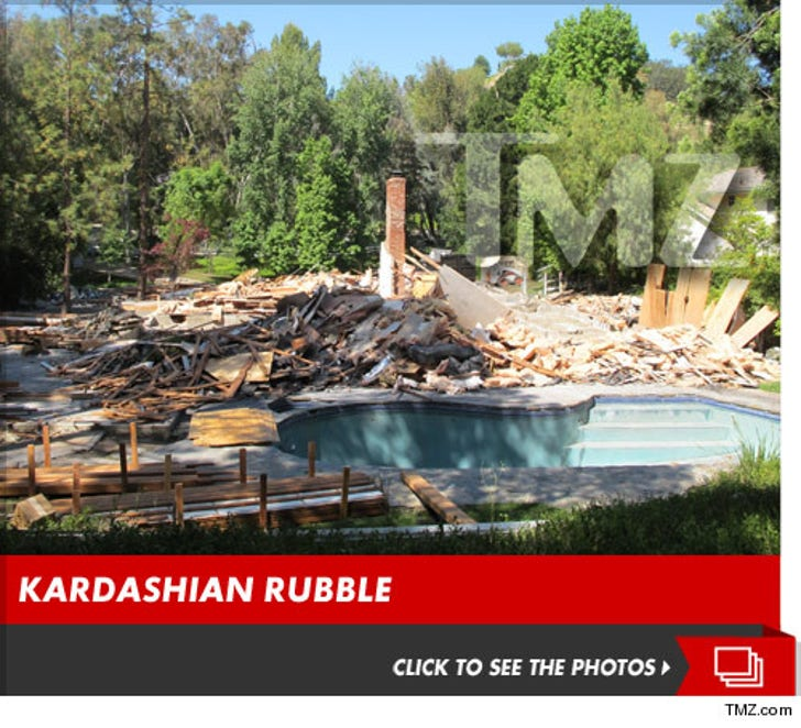 'Keeping up with the Kardashians' House Sold and Torn to Pieces
