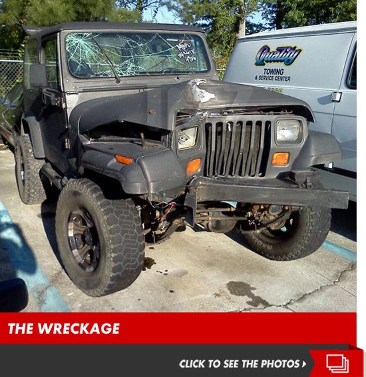 Myrtle Manor -- Amanda Lee Adams' Wrecked Jeep