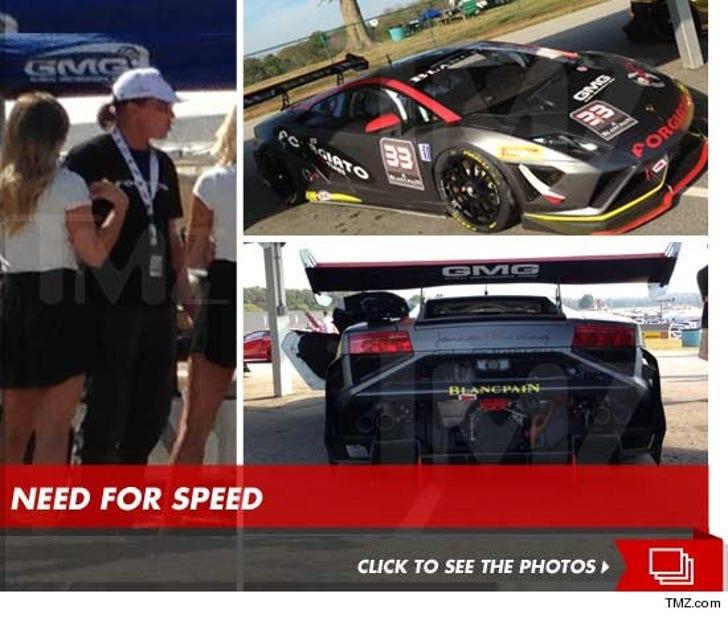 Bruce Jenner's High Speed Lambo Race