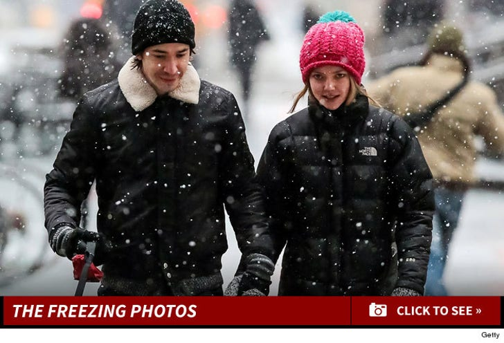 Celebrity Vortex -- Stars Embracing Snow!
