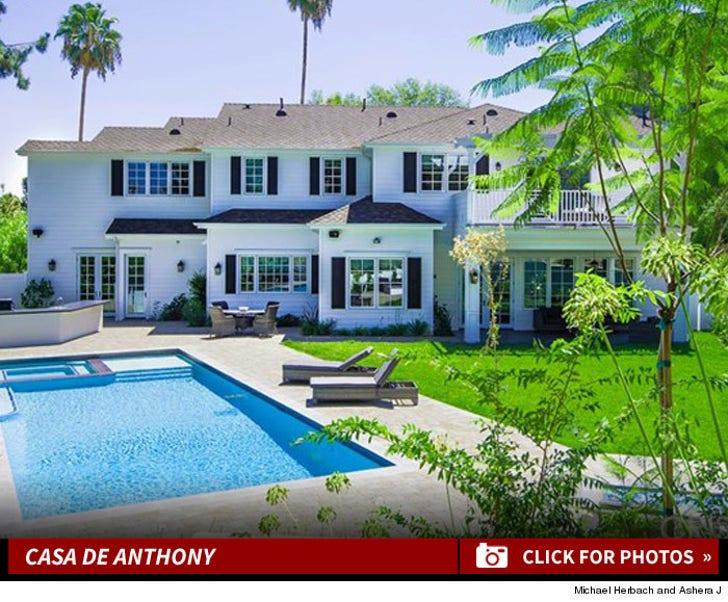 Marc Anthony's Tarzana House -- For $ALE!