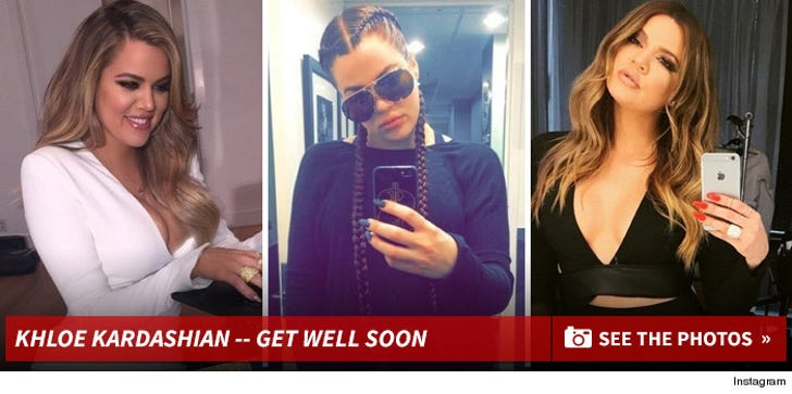 Khloe Kardashian's Hot Shots