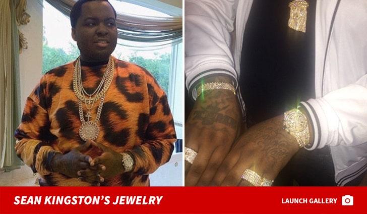 Sean Kingston's Jewelry