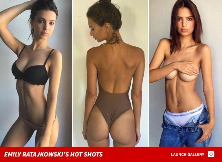 Emily Ratajkowski's Sexy Snapshots