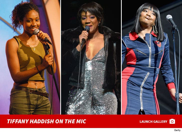 Tiffany Haddish On The Mic