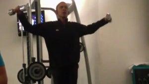 Barack Obama Working Out -- President Secretly Filmed at Polish Gym [VIDEO]