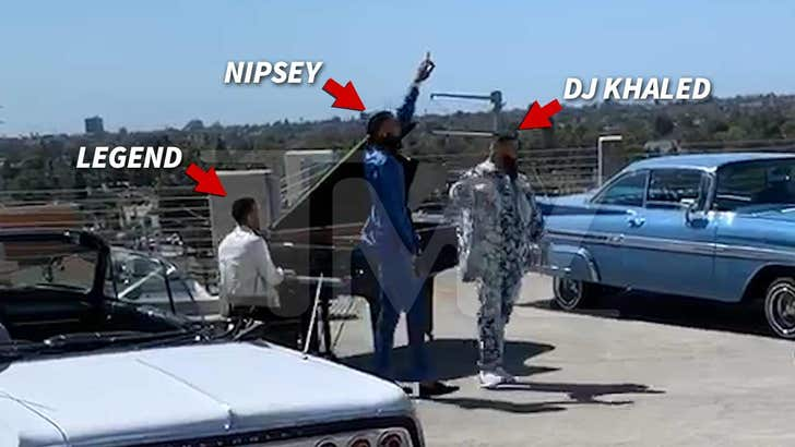 First Look at Nipsey Hussle's Last Music Video with DJ