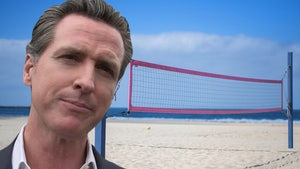 Gov. Gavin Newsom Urged To Return Volleyball Nets To CA Beaches, Thousands Ink Petition