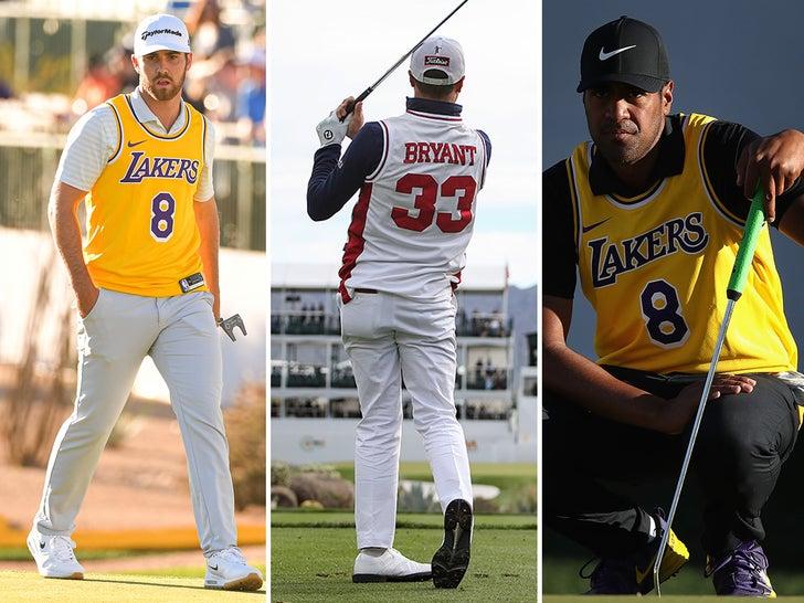Golfers Honor Kobe Bryant at Phoenix Open
