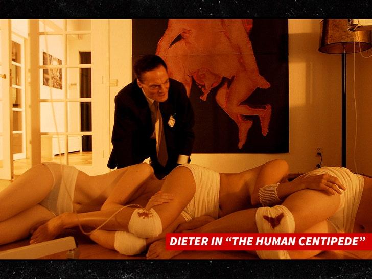 'The Human Centipede' Star Dieter Laser Dead at 78