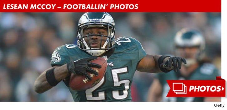 LeSean McCoy -- Footballin' Photos