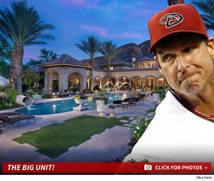 Randy Johnson's Arizona Estate -- For Sale