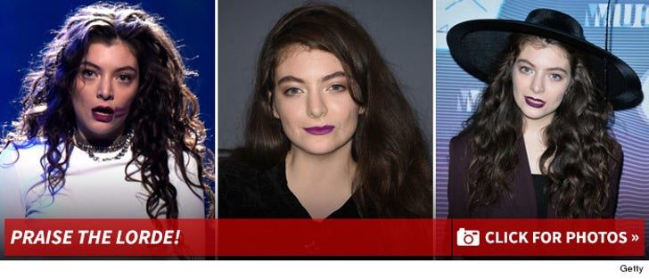 Lorde -- Through The Years