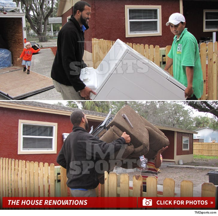 Michael Clayton's House Renovation Photos