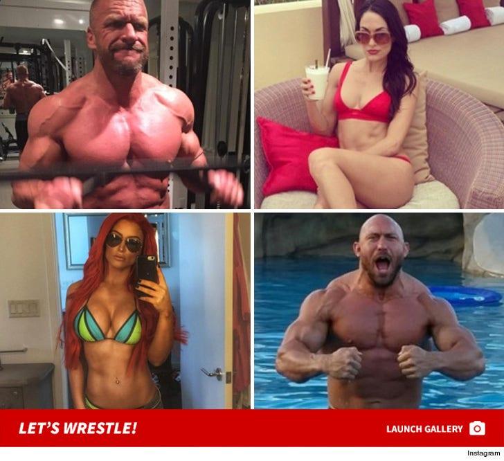 WrestleMania 32 -- WWE's Sexiest Stars