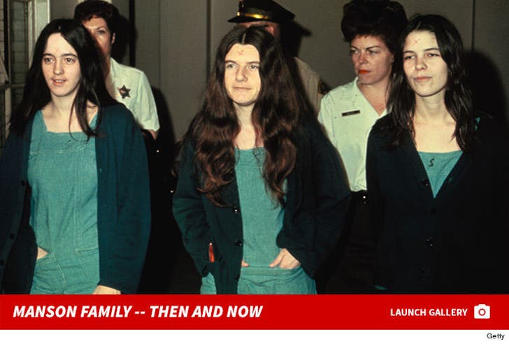 Manson Family -- Then and Now