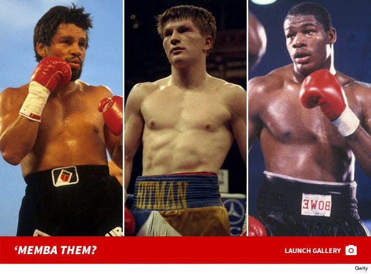 Boxing Legends: 'Memba Them?