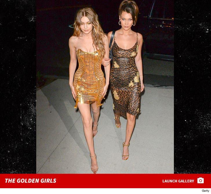 Gigi Hadid's Golden Birthday Party