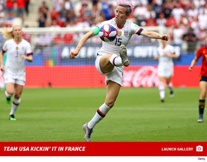 Team USA Kickin' It At Women's World Cup