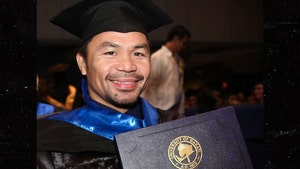 Manny Pacquiao Gets College Diploma, I'm An Inspiration!