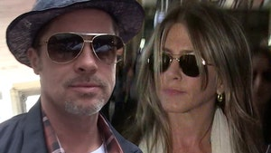 Brad Pitt & Jennifer Aniston Aren't Romantic, Just Friendly