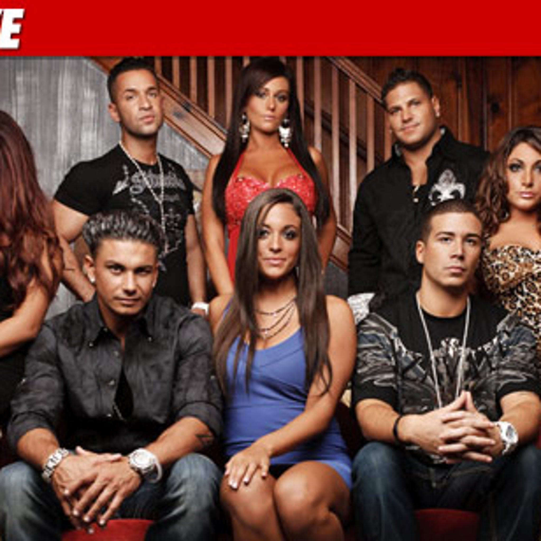 Jersey Shore' Cast -- Squeezing MTV For More $$$