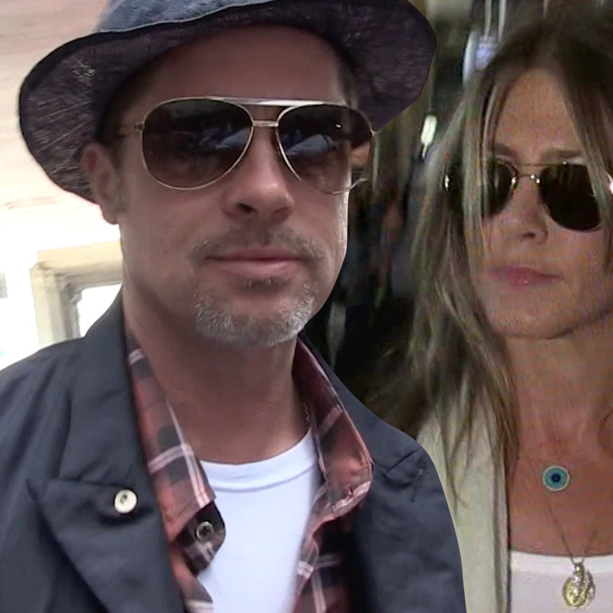 Brad Pitt Jennifer Aniston Aren T Romantic Just Friendly