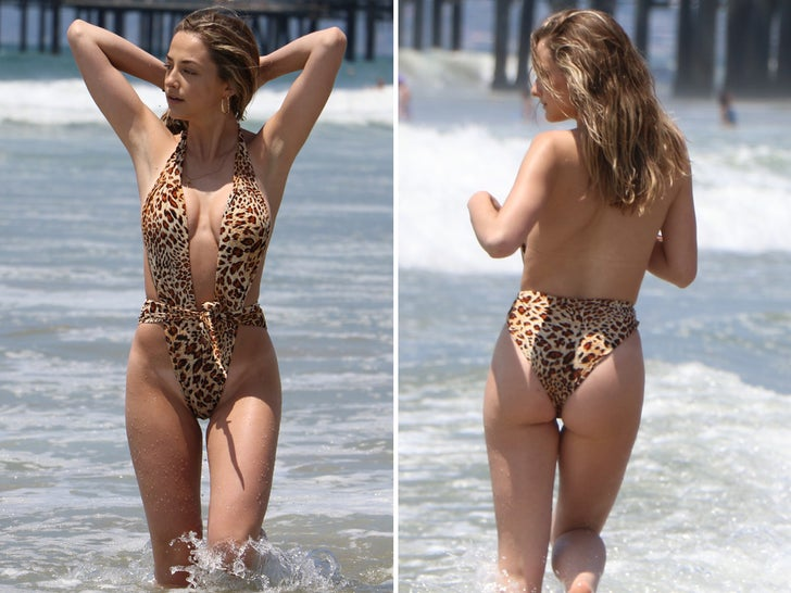 Cat Kennedy Spotted in Cheeky Bathing Suit