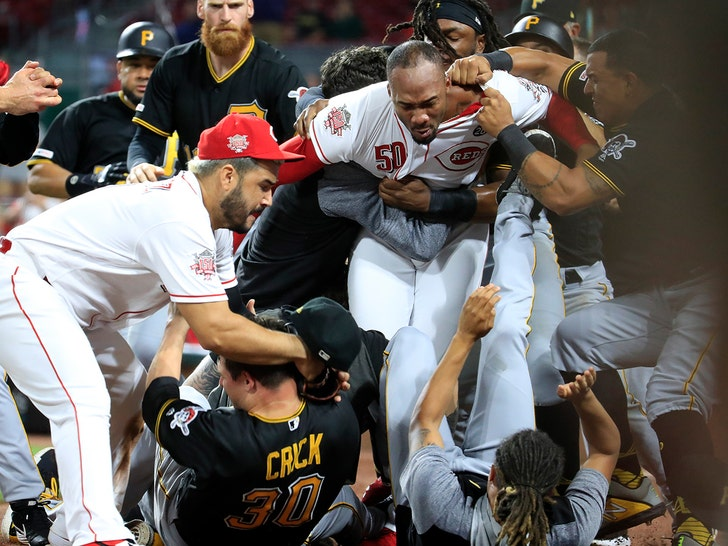 Reds-Pirates Brawl Results In 40 Games Of Suspensions