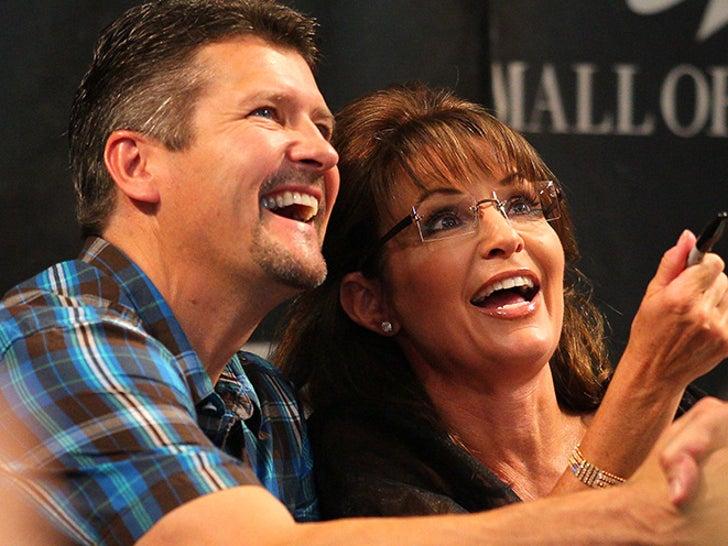 Sarah and Todd Palin -- Happier Times