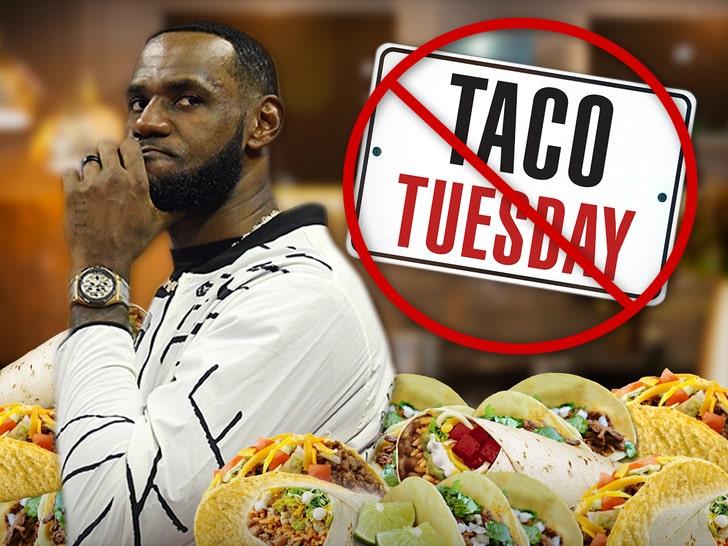 LeBron's 'Taco Tuesday' trademark filing denied