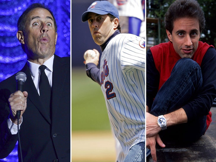 Jerry Seinfeld Through The Years