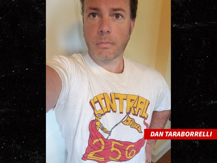 Dan Taraborrelli pissed at bill cosby's shirt