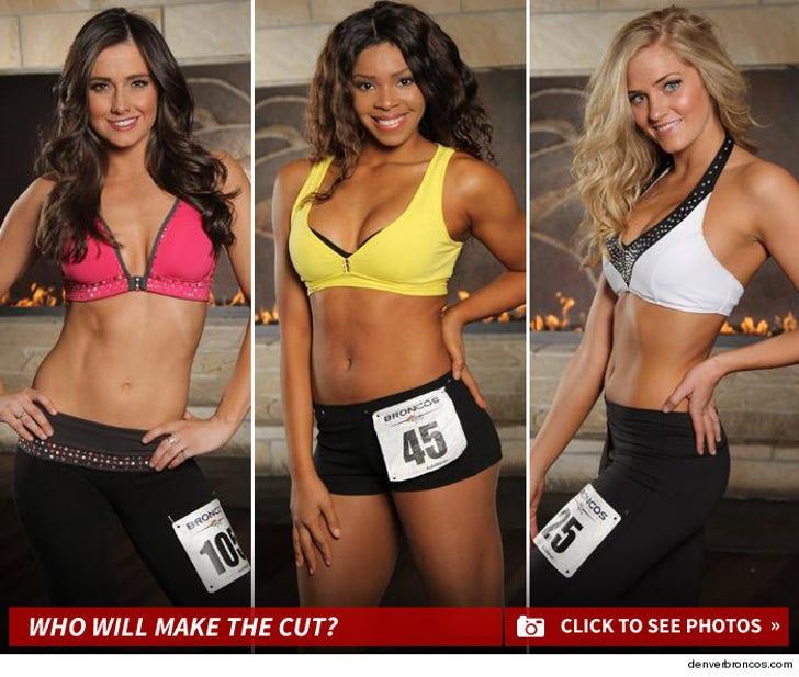 Denver Broncos' Cheerleaders -- The Finalists Photos