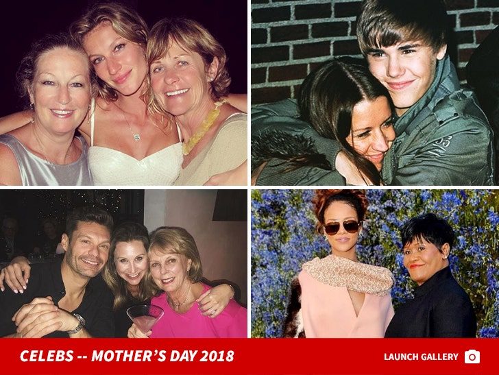 Celebrities Take to Instagram to Wish their Mom's a Happy Mother's Day
