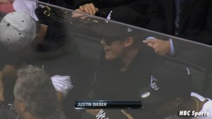 L.A. Kings Announcer -- Hey Keyshawn ... BIEBER'S RIGHT HERE!!!