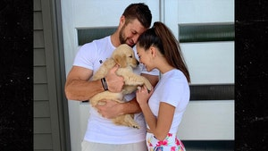 Tim Tebow and Wife Start a Super-Cute Puppy Family, Meet Kobe!!!